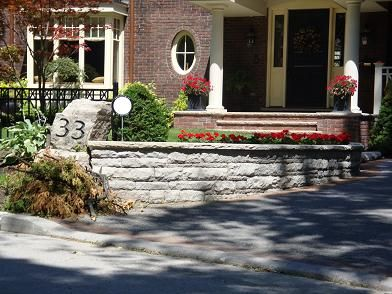 Stone Mason Contractor in Leaside